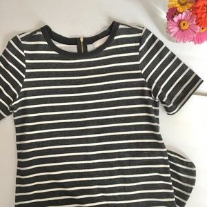LOFT striped dress | sz. medium